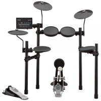 Yamaha DTX452K Electronic Drum Kit with Stool Headphones Sticks