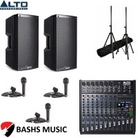 Alto PA SYSTEM DJ PACKAGE 3