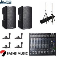 Alto PA SYSTEM DJ PACKAGE 4