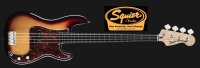 Fender Squier Vintage Modified Precision Bass 4 String Fretless