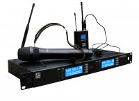 Ashton AWM350HTBP Wireless Dual Handheld And Body Pack System