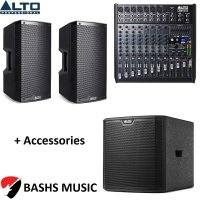 Alto PA SYSTEM DJ PACKAGE 5