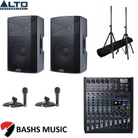 Alto PA SYSTEM DJ PACKAGE 1