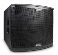 Alto Professional Black 15 Inch Subwoofer 2400 watts
