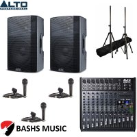 Alto PA SYSTEM DJ PACKAGE 2