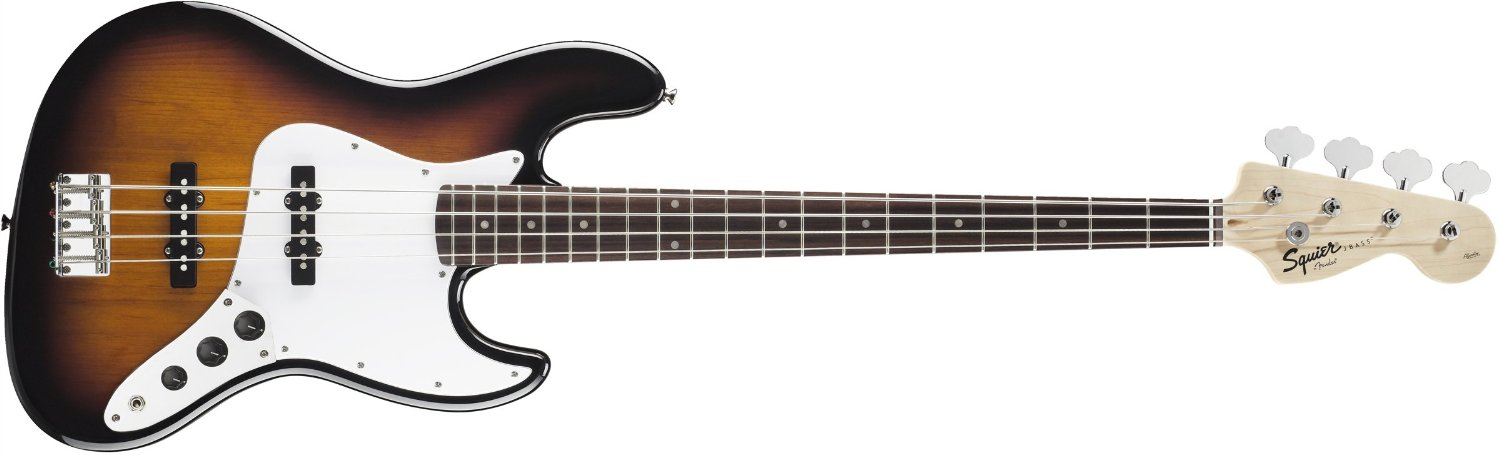 Fender Squier Affinity Jazz Bass 4 String Brown Sunburst