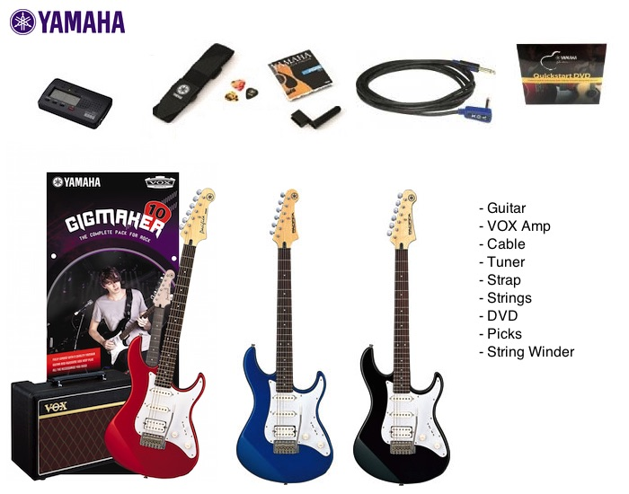 Yamaha Gigmaker10 Electric Guitar Pack Gigmaker10 449 00 The