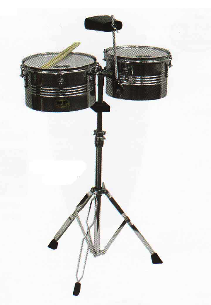 MP Latin Timbalito Set With Cow Bell